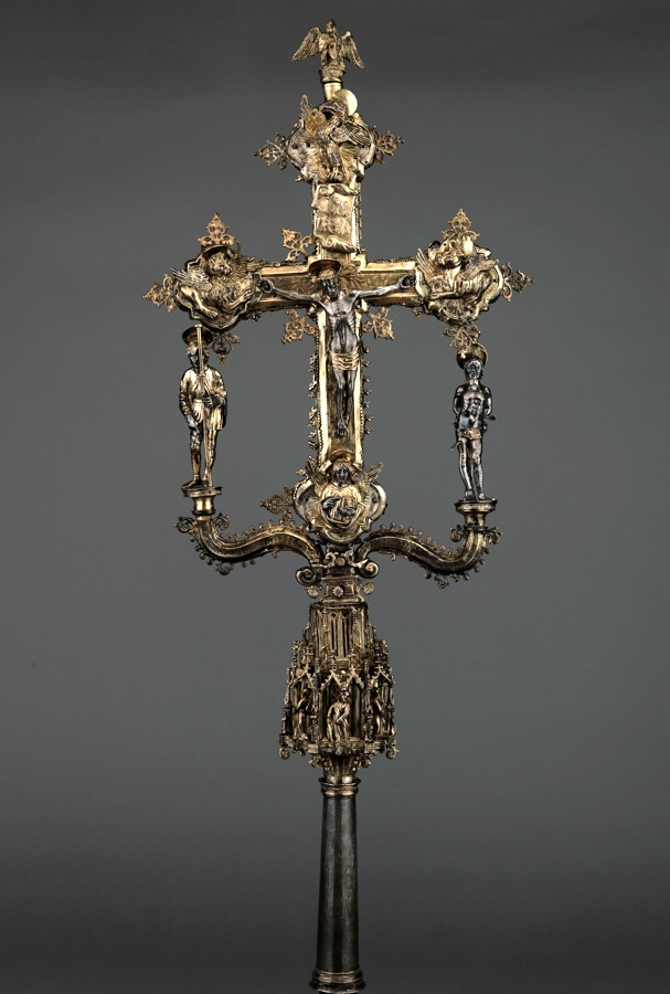 Processional cross, Veneto, second half of XVth c.