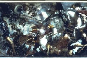 La cattura di san Rocco, olio su tela, prima metà XVI sec.
