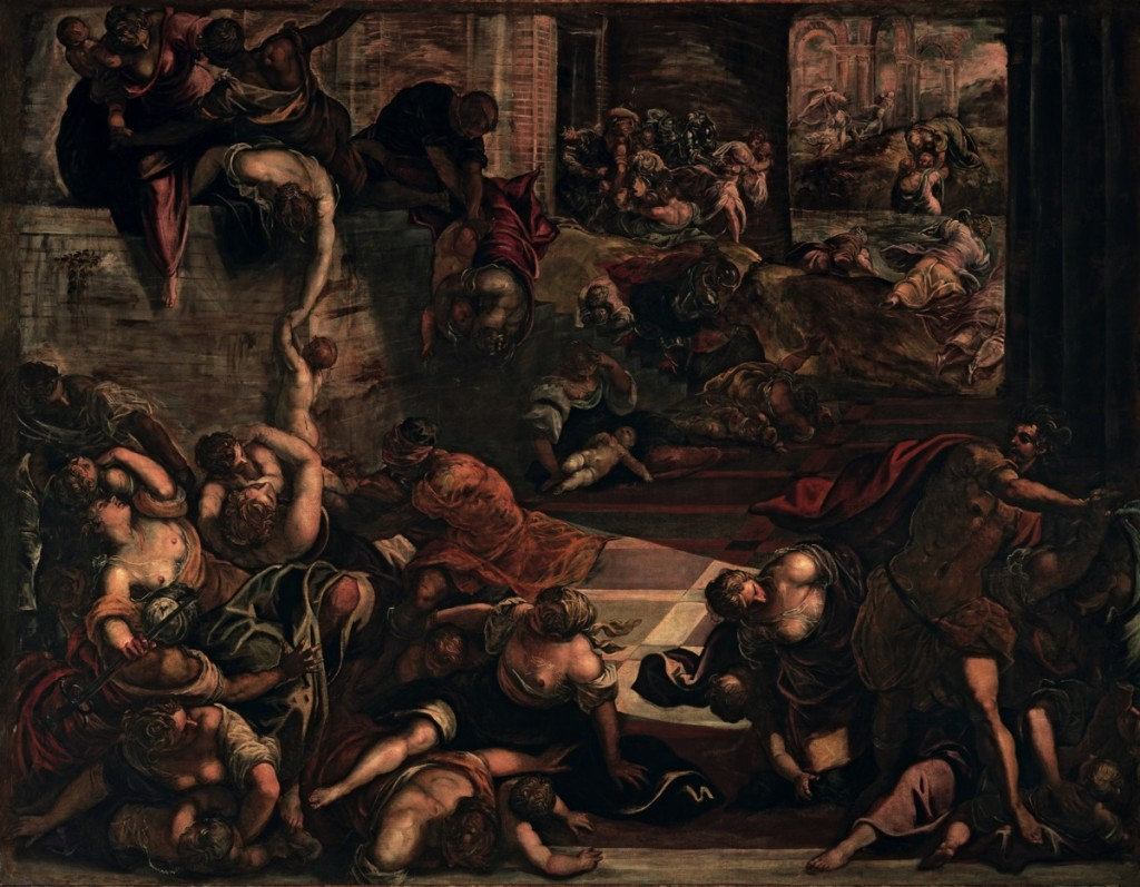 The Massacre of the Innocents, oil on canvas (546×422 cm), 1582/87
