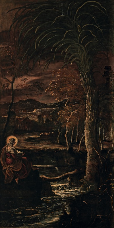 St. Mary of Egypt , oil on canvas (211×425 cm), 1582/87