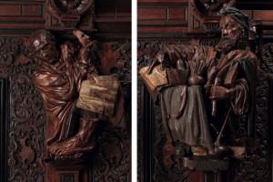 Cicerone oratore in difesa della Scultura e Giacomo Robusti per la pittura