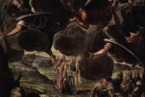 L'ascensione, olio su tela, (538x325 cm), 1578/81