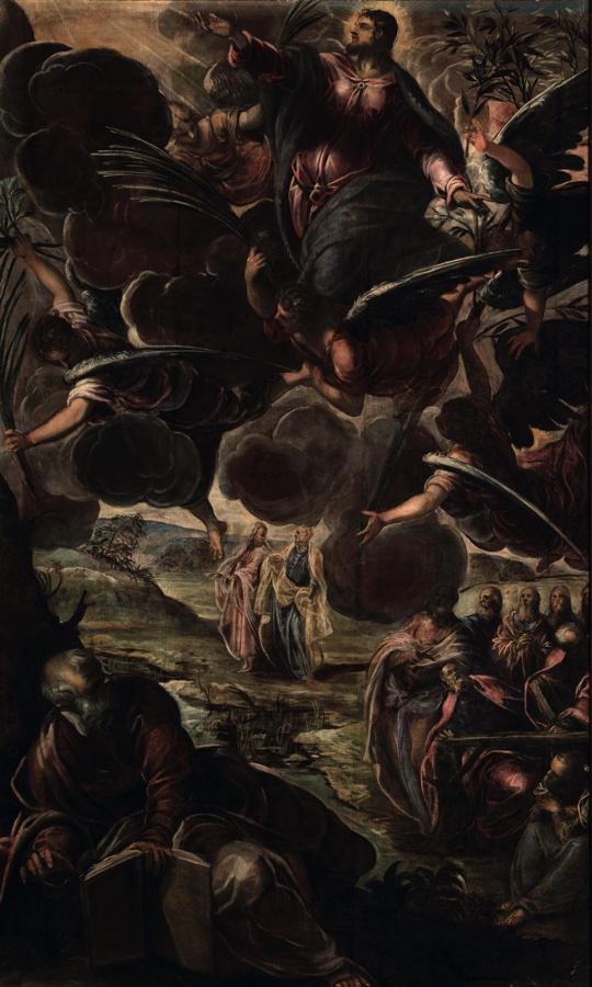 The Ascension, oil on canvas (538×325 cm), 1578/81