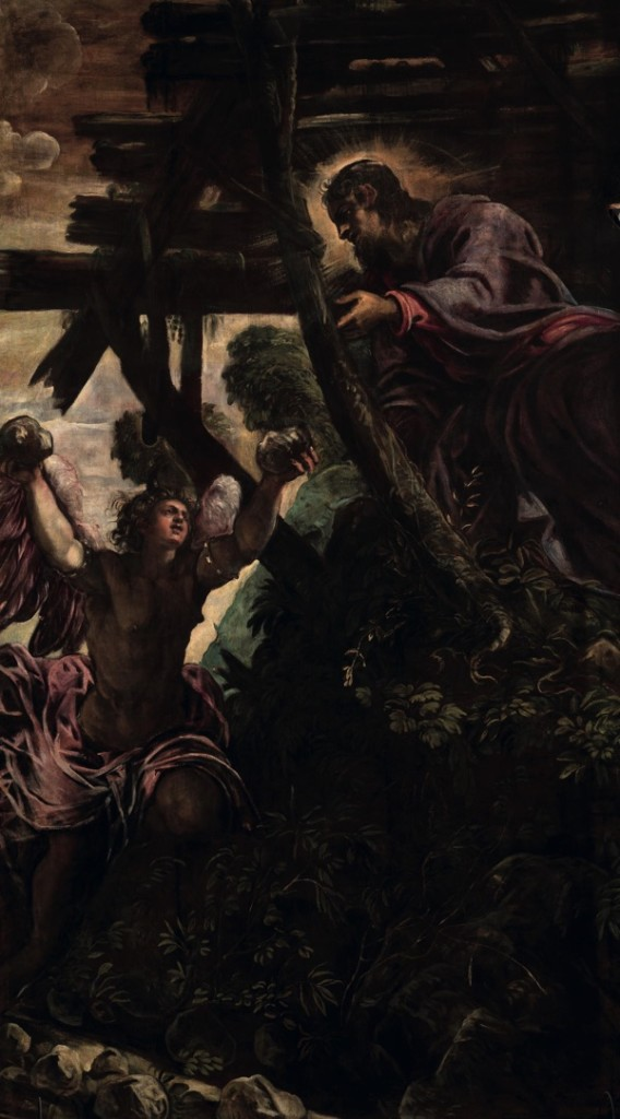 The Temptation of Christ, oil on canvas (330×539 cm), 1578/81
