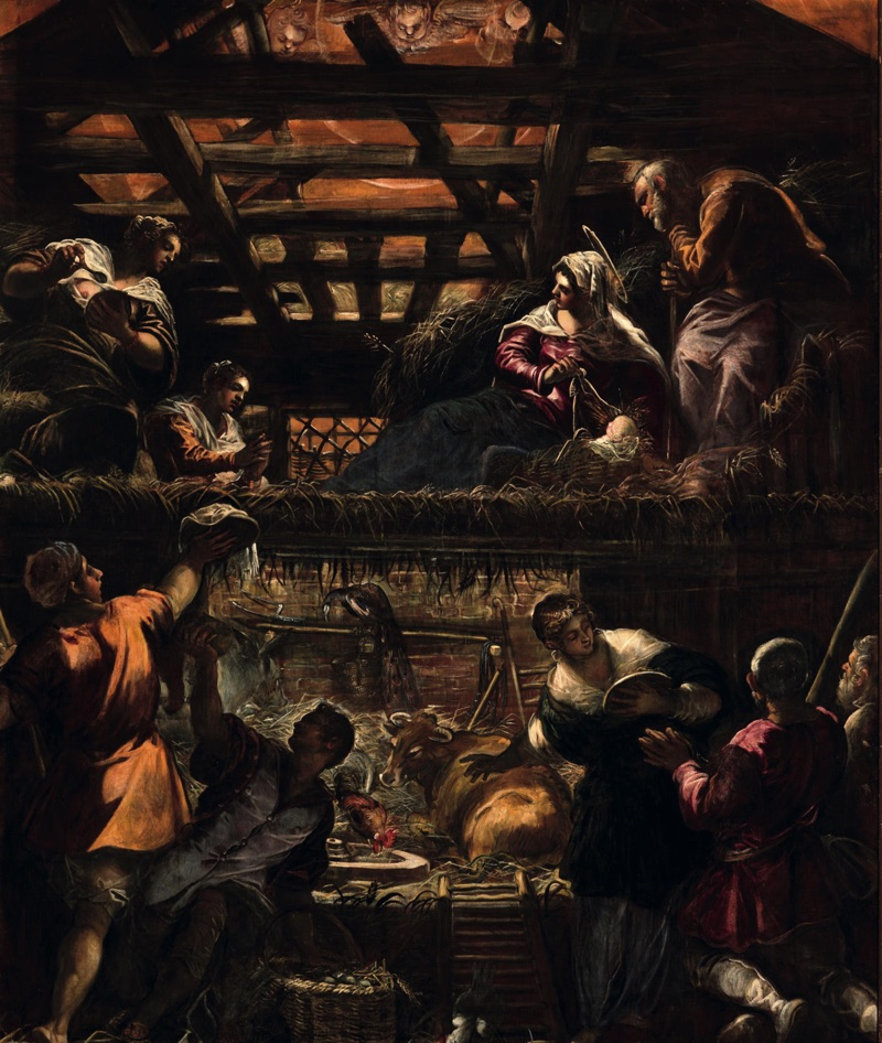 The Adoration of the Shepherds, oil on canvas (455×542 cm), 1578/81