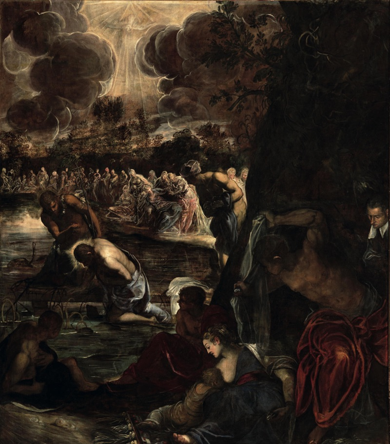 The Baptism of Christ, oil on canvas (465×538 cm), 1578/81