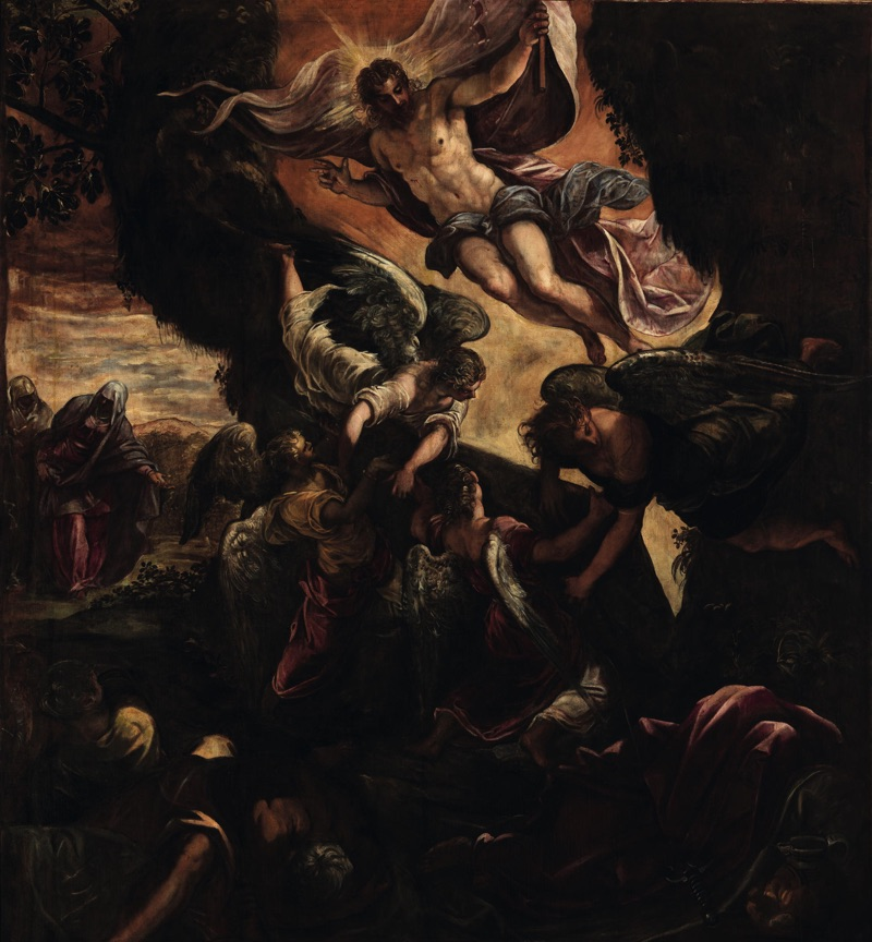 The Resurrection of Christ, oil on canvas (485×529 cm), 1578/81