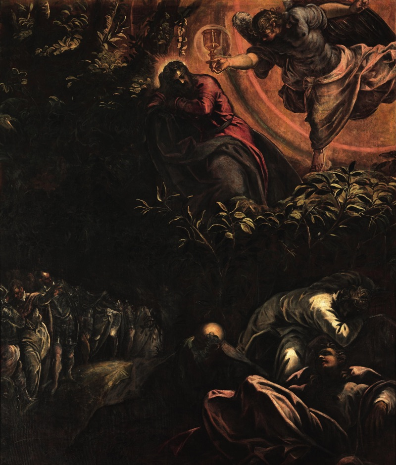 he Agony in the Garden, oil on canvas (455×538 cm), 1578/81