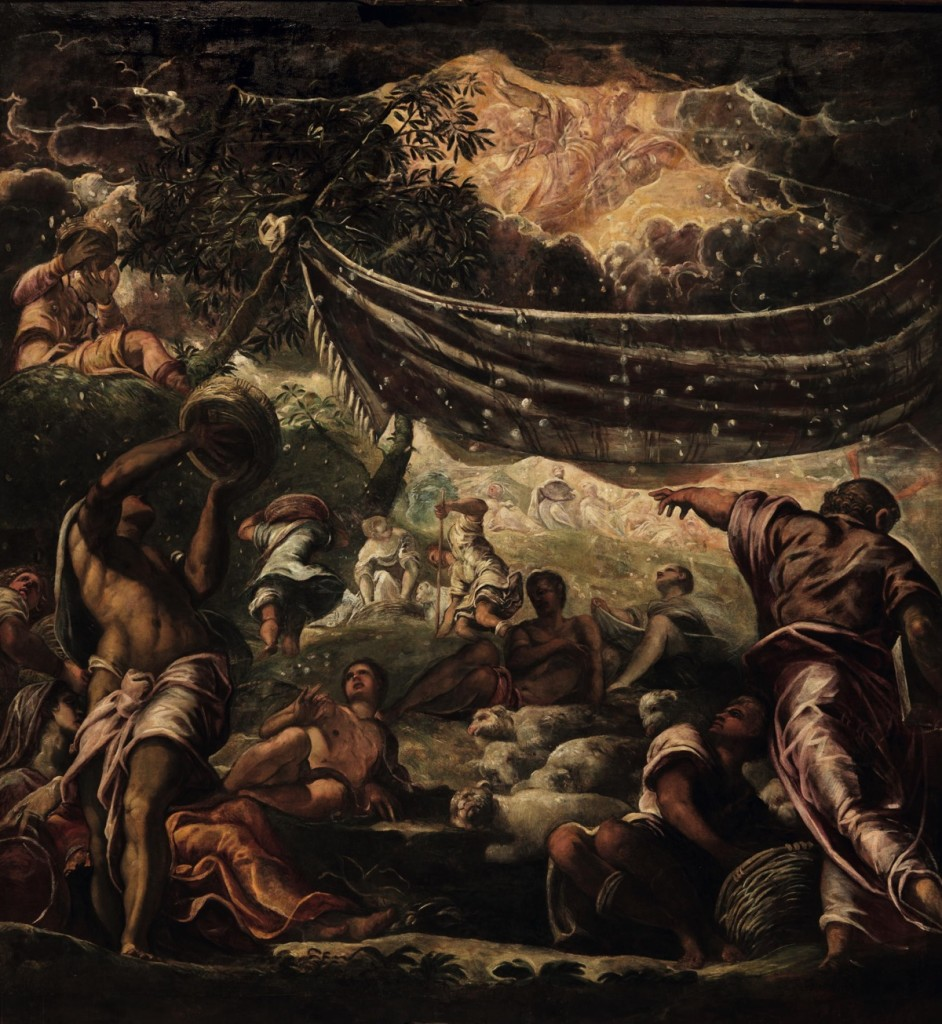 The Gathering of the Manna, oil on canvas (520×550 cm), 1577
