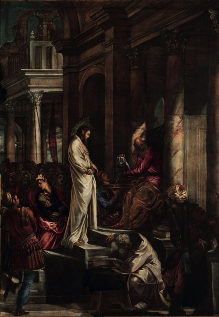 Christ before Pilate, oil on canvas, (380×515 cm), 1566/67