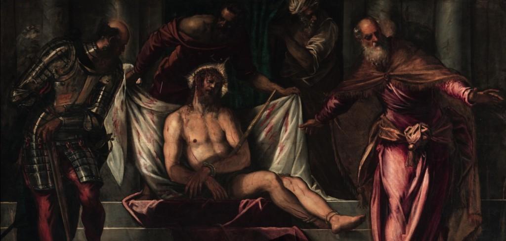 Ecce Homo , oil on canvas (390×260 cm), 1566/67