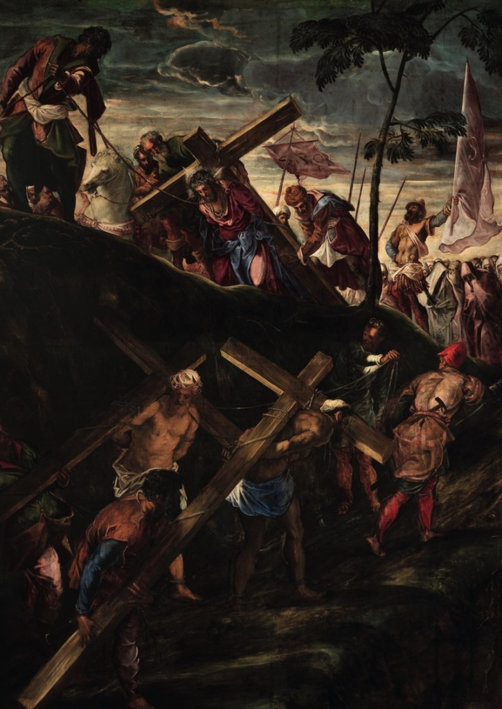 The Road to Calvary, oil on canvas (390×515 cm), 1566/67
