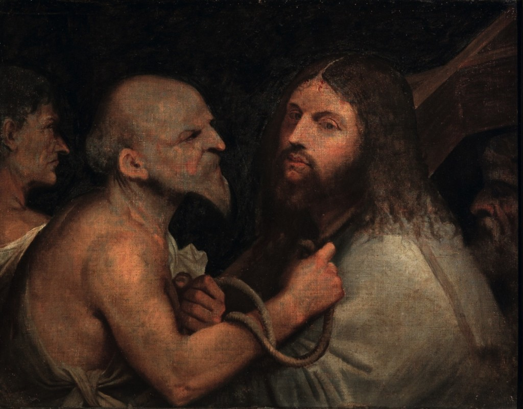 Christ Carrying the Cross, oil on canvas (68,2×88,3 cm) 1505