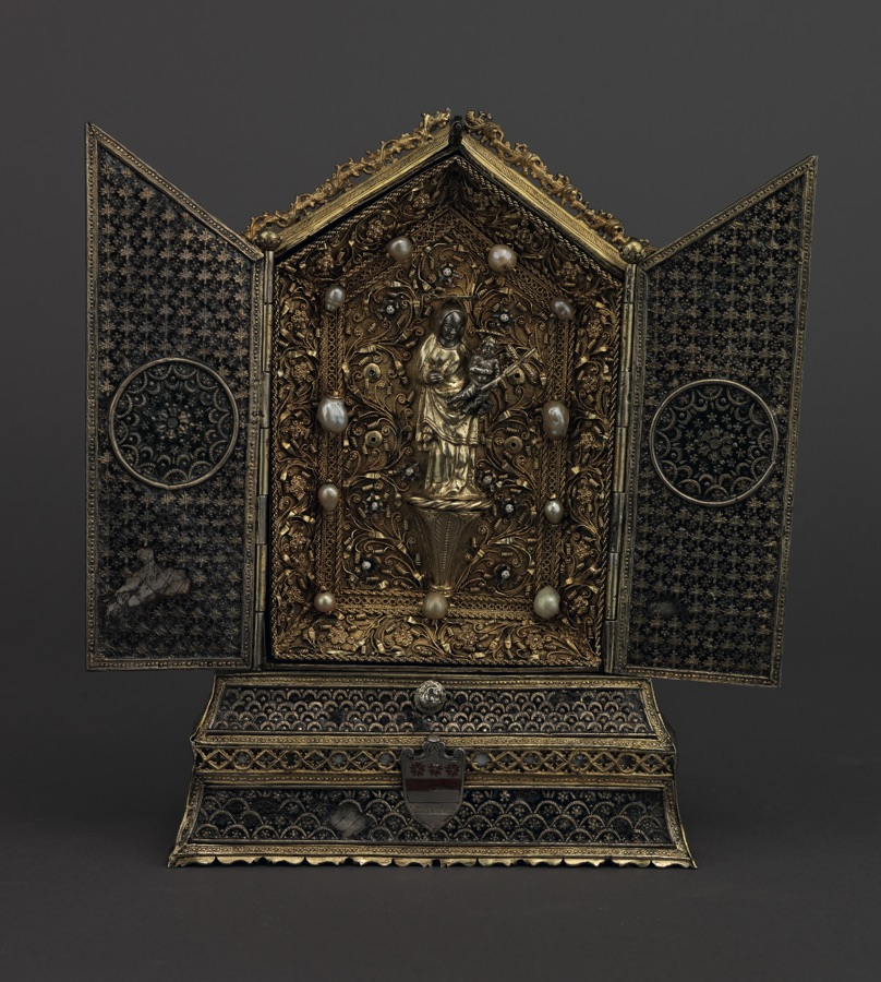 Small altar with the Madonna and Child, c. 1430