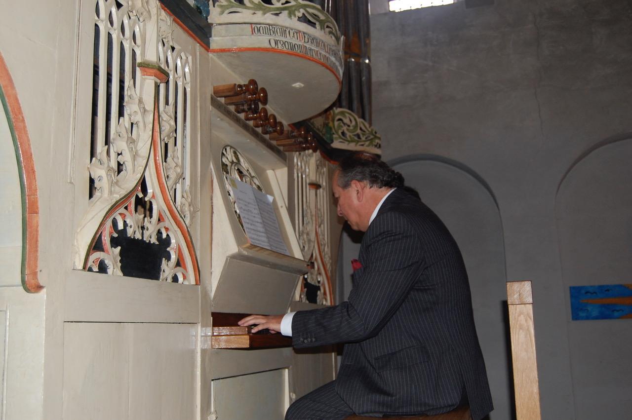 Concerto d'organo Maurizio Pergelier