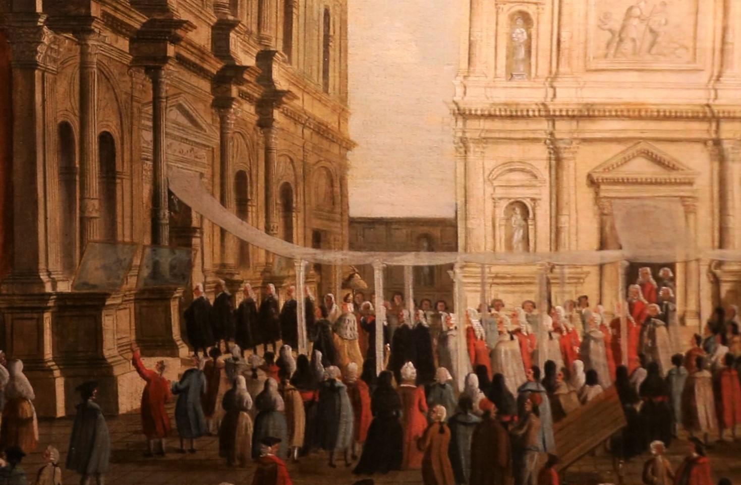 Gabriel Bella, Visita del Doge alla chiesa di San Rocco (dettaglio) - 1779-92, Fondazione Querini-Stampalia